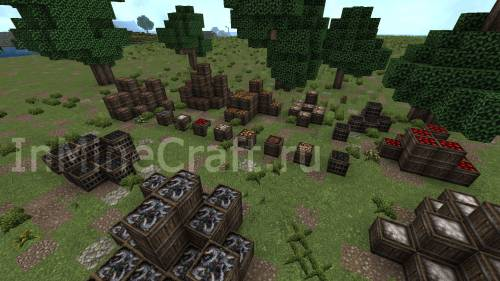 MineCraft CTM в действии. Пример.