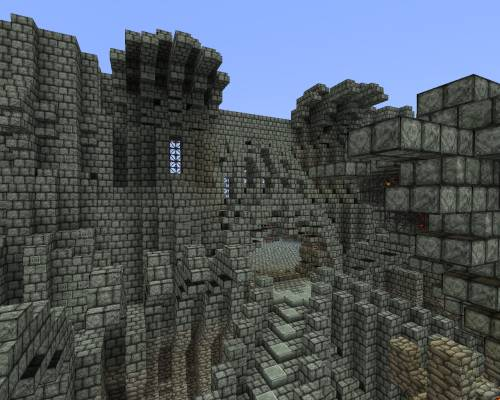 Замок забвения - и снова главный вход