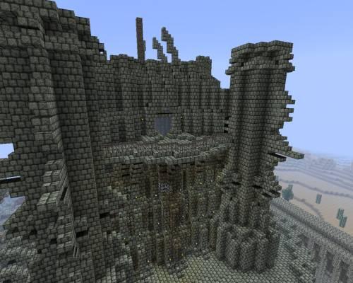 Замок забвения - боковая стена
