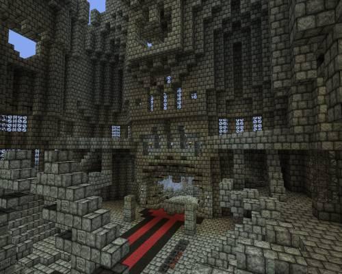 Замок забвения - тронный зал