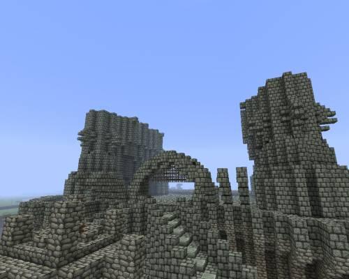 Замок забвения - ворота