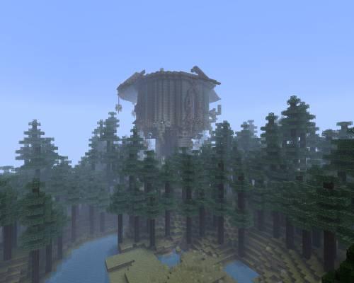 Башня в тёмном лесу
