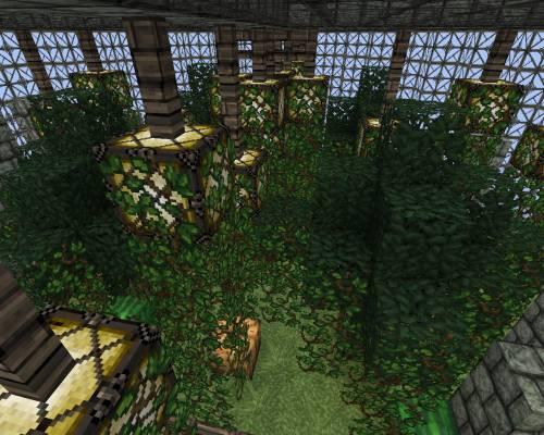 Парящий город #2 - Сад