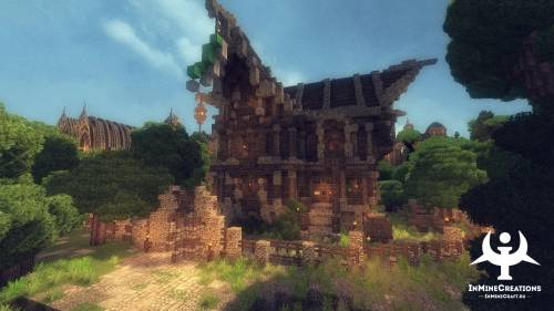 InMineCreations Medieval Fantasy BuildPack #5 - Креативные проекты