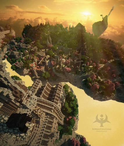 InMineCreations Medieval Fantasy BuildPack #30 - Креативные проекты